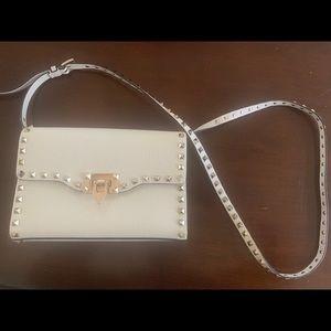 Valentino Rockstud Small Shoulder Bag-NEW (White)
